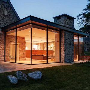 Glass extensions